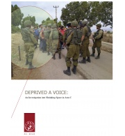 New Report: DEPRIVED A VOICE: An Investigation into Shrinking Space in Area C