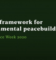 A legal framework for environmental peacebuilding