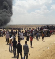14 May 2018: IOF Commit Egregious Killings of 59 Palestinians in the Gaza Strip as Great Return March Protests Culminate Ahead of 70th Nakba Commemoration