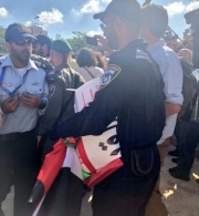 Jerusalem: Israeli occupying Forces Prevent Peaceful Assembly and Forcibly Prevent the Display of Palestinian Flags