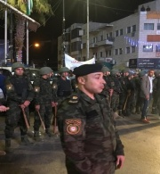 Palestinian Security Forces and Agents Forcefully Disperse Peaceful Demonstrators in Ramallah