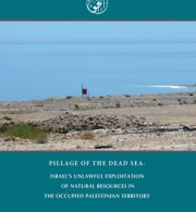 Pillage of the Dead Sea: Israel's Unlawful Exploitation of Natural Resources in the Occupied Palestinian Territory