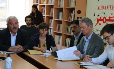 مجلس منظمات حقوق الانسان يعقد اجتماعاً لمناقشة انتهاكات الاحتلال بحق المؤسسات الحقوقية