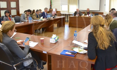 Al-Haq and partners hold briefing for diplomatic community in Palestine
