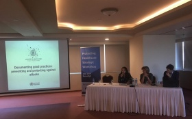 Towards a Joint Strategy for the Protection of Healthcare in Palestine