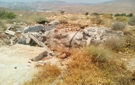 Israeli Occupying Authorities Demolish Palestinian Water Wells; Expand Water Lines for Israeli Settlements - Reporting Period: 10-16 June 2019