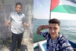 Photos of Khaled Abu Bakr Rabie (Left) and Ali Sami Al-Ashqar (Right). (Source: Palestine Chronicle (6 September 2019)[6]