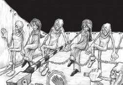 Cartoonist Mahmoud Saba'aneh