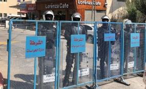 """""""الحق"""" تدين منع السادة القضاة والمحامين ووسائل الاعلام ومؤسسات حقوق الإنسان من دخول مجمع المحاكم في مدينة البيرة"""