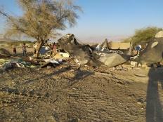 Demolitions in Fasayel, Jordan Valley