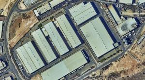 Barkan industrial area. Salfit
