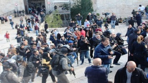 Suppression of Peaceful Assemblies in Jerusalem