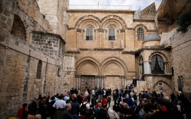 Israel's Occupation Threatens Christian Holy Sites in Jerusalem