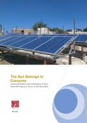 The Sun Belongs to Everyone: Israeli Demolitions and Confiscations of Solar Panel Aid Projects in Area C of the West Bank