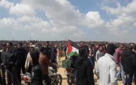 30 de marzo: Violenta represión de las FOI contra manifestantes Palestinos en la Franja de Gaza: 18 palestinos asesinados, más de mil heridos