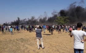 Great Return March: Four Killed, including a Child, and 295 Injured in 11th Week of Peaceful Protests