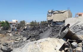 Three Palestinians Killed in Israeli Raids on the Gaza Strip