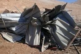 Demolitions Leave Jordan Valley Community of Khirbet Makhul Homeless