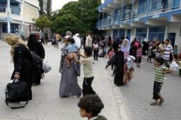 UNRWA Emergency Shelter Bombed: 13 Civilians Killed and 200 Injured