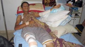 Palestinian Farmer Shot Twice by Israeli Military near Buffer Zone