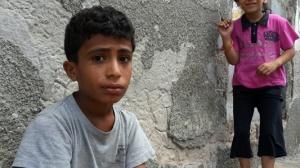 Sayyed Ramez Bakr and Muhammad Bashir Abu Wadfa - al-Shate' Refugee Camp - Gaza