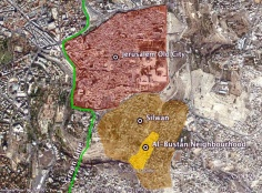 88 Palestinian Houses to be demolished for Israeli Park