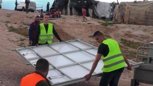 Solar Panels Dismantled and Confiscated in Al-Khan Al-Ahmar