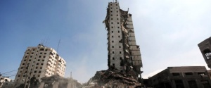 High Rise Buildings Collapse Following Israeli Airstrikes