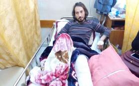 صحفي فلسطيني يروي قصة استهداف قوات الاحتلال له على حدود قطاع غزة
