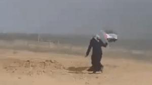 إفادة عائدة المجدلاوي حول إطلاق قوات الاحتلال النار عليها أثناء رفعها العلم الفلسطيني