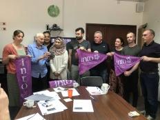 """""""الحق"""" تلتقي ممثلين عن نقابات العمال الإيرلندية بشأن التنظيم النقابي وإضراب المعلمين"""