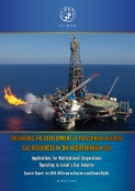 Preventing  the  Development  of  Palestinian  Natural  Gas  Resources  in  the  Mediterranean  Sea