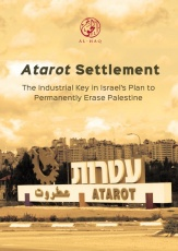 Atarot Settlement: The Industrial Key in Israel's Plan to Permanently Erase Palestine