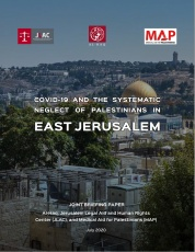 COVID-19 and the Systematic Neglect of East Jerusalem