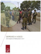 DEPRIVED A VOICE:An Investigation into Shrinking Space in Area C