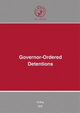 Governor-Ordered Detentions