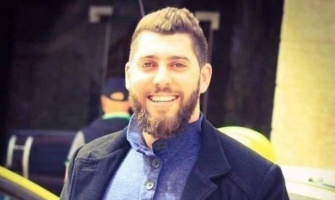 Saleh Barghouthi, 29, detained by the IOF on 12 December 2018 – Image circulated online.