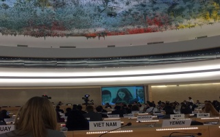 Al-Haq delivers joint oral intervention under the general debate of the 28th special session of the UN Human Rights Council, on the deteriorating human rights situation in the occupied Palestinian territory, including East Jerusalem, 18 May 2018.