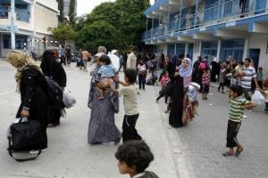 UNRWA Emergency Shelter Bombed: 13 Civilians Killed and 200