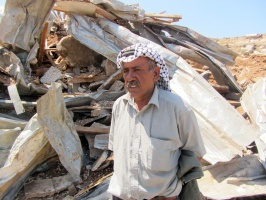 Kaabne-community-members-after-the-Israeli-demolition---Al-Haq