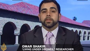 Omar-Shakir-on-Aljazeera